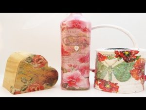 DIY – Decoupage Techniques Good For Beginners Or Intermediates!