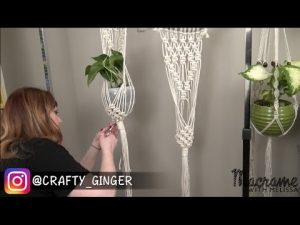DIY Tutorial – Macrame Plant Hanger For Beginners