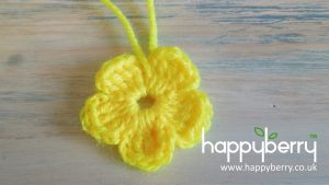 How To Crochet A Simple Flower For Beginners