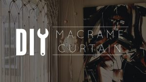 Learn – DIY Macrame Curtain