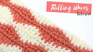 Crochet: How To Crochet The Rolling Waves Stitch