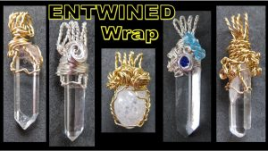 EASY Jewelry Making Tutorial – Entwined Wrap Pendant