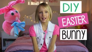 Easy Kids Crafts With DIY Easter Bunny