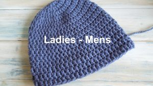 How To Crochet A Simple Beanie for Ladies