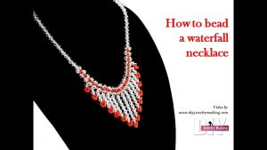 See How To Bead A Waterfall Necklace